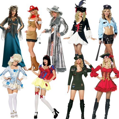 Клипарт ''Девушки в ярких костюмах ''