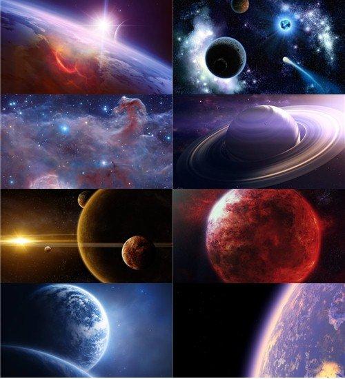 На космическую тему подборка обоев хорошего качества