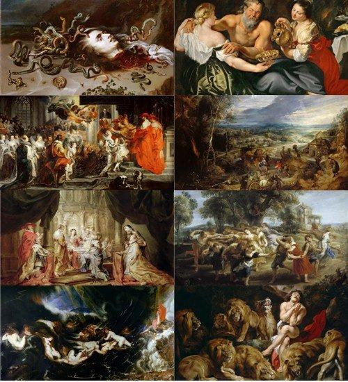Питер Пауль Рубенс подборка картинок живописи- часть 2