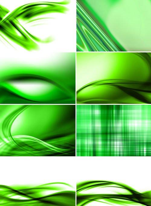 Зеленый абстракт