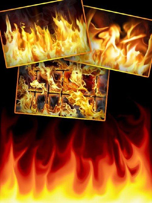 Огонь (подборка растрового клипарта)