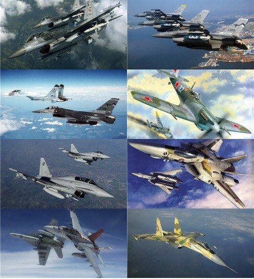 Фотоподборка обоев авиации для рабочего стола