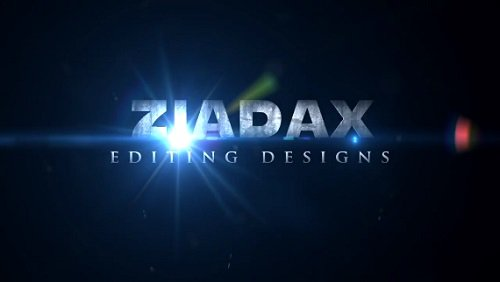 Ziadax Intro - Sony Vegas Pro Project