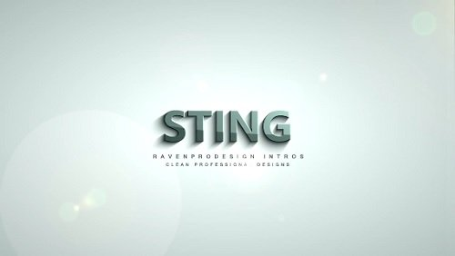 Sting Template - Sony Vegas Pro Project
