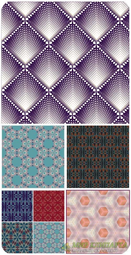 Фоны в векторе, узоры, геометрические узоры / Vector background, patterns,  ...