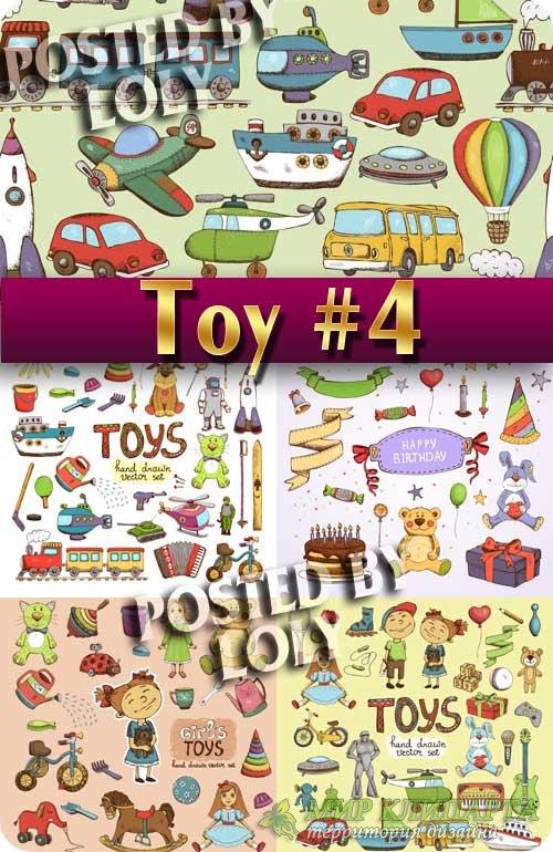 Детские Игрушки #4 - Векторный клипарт