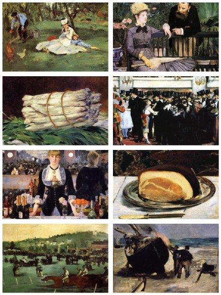 Сборник картинок живописи Эдуард Мане