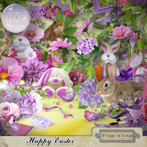 Скрап-набор Happy Easter