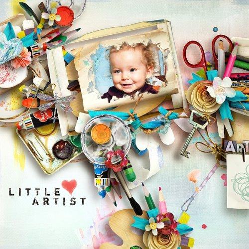 Скрап-набор Little Artist