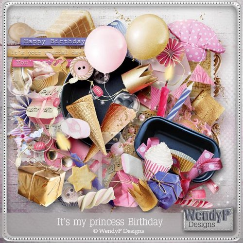 Скрап-наборы It's my princess birthday and Oh boy...it's my party!