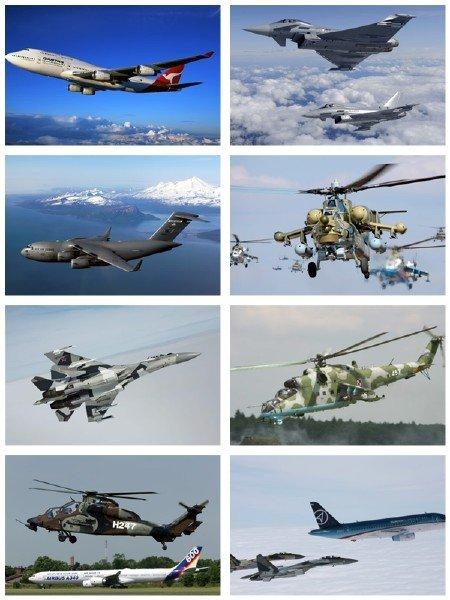 Сборник обоев авиации на рабочий стол в фото выпуск 24
