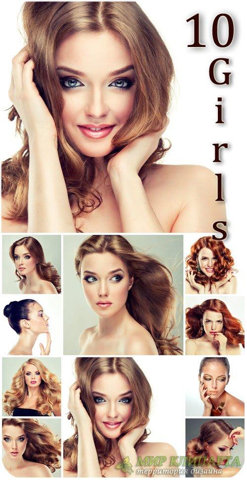 Красивые девушки, коллекция сток фото / Beautiful girls collection of stock ...