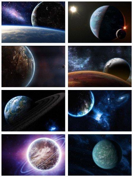 В full hd формате подборка обоев на космическую тему выпуск 57