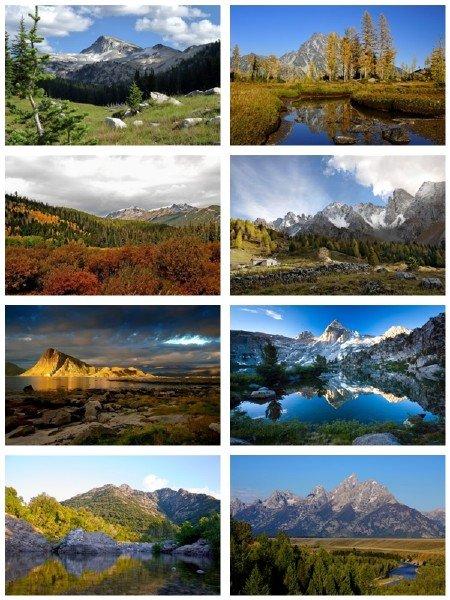 Чудесные ландшафты природы в фото для рабочего стола выпуск 147