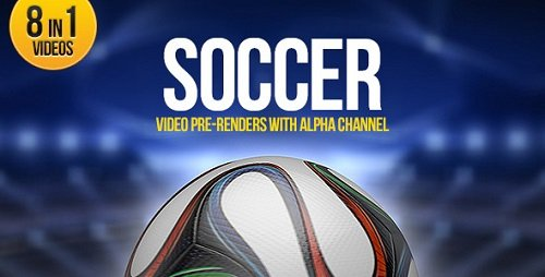 Soccer Ball Brazil 8in1 Videohive (Переходы