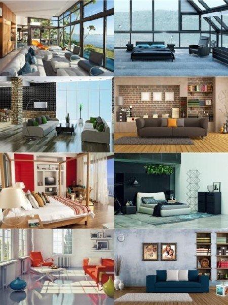 Выборка увлекательного дизайна интерьеров помещений в фото выпуск 62