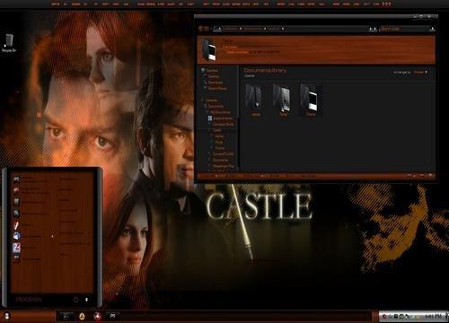 Castle - Тема для Windows 7