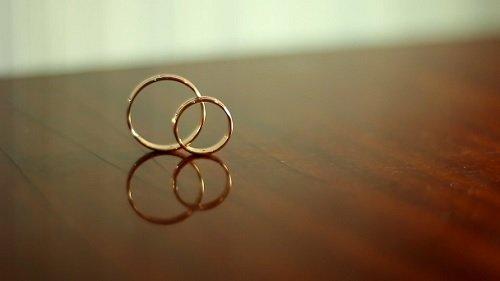 Футаж Свадебные кольца HD / Wedding Rings Footage HD