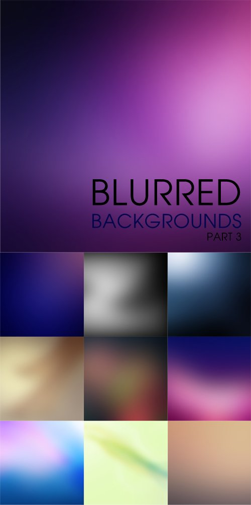 Blurred backgrounds part 3