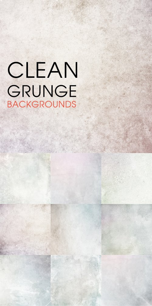 Clean Grunge backgrounds