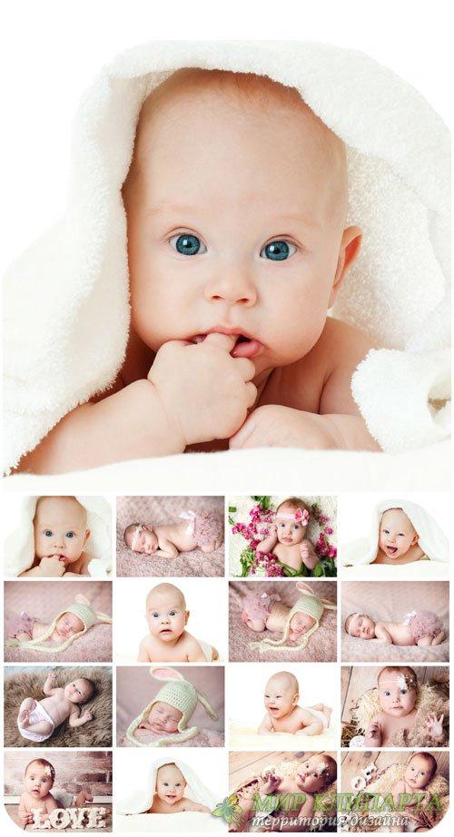 Маленькие дети  / Little kids  - stock photos