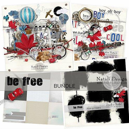 Скрап-набор - Be Free