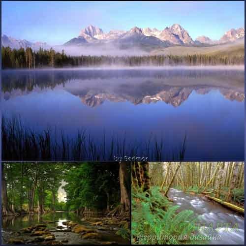 Фото красивых рек и несказанно хороших озер