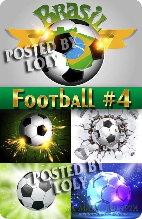 Спорт. Футбол #4 - Векторный клипарт