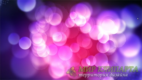Футаж Off Focus Particles 2 HD