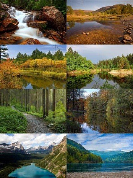 Завораживающие пейзажи природы в фото для рабочего стола выпуск 151