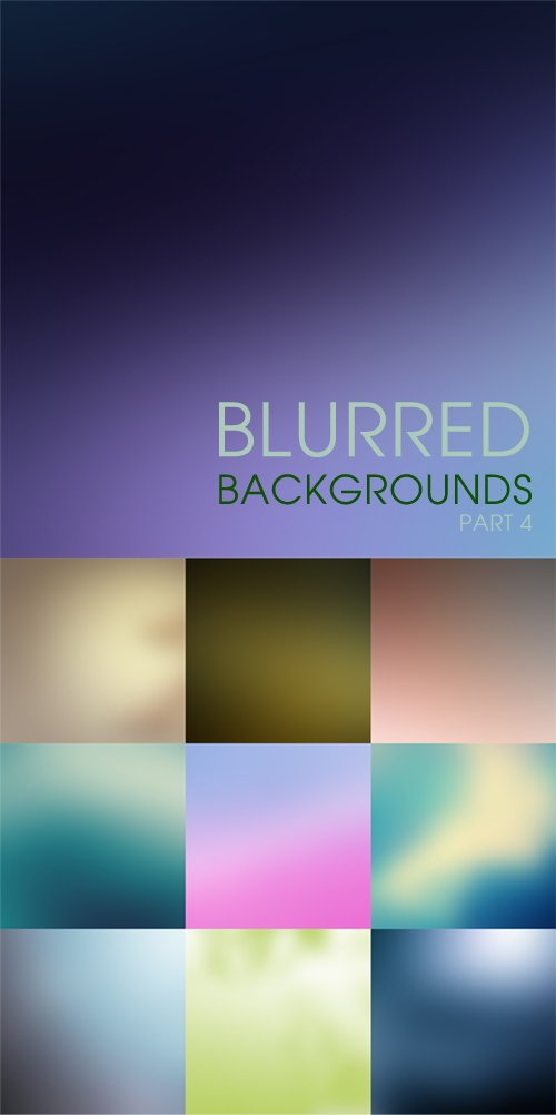 Blurred backgrounds part 4