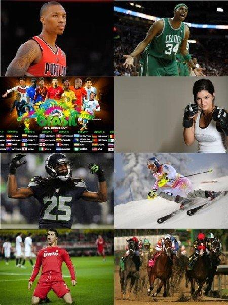 Фото на спортивную тему, сборник для рабочего стола выпуск 11