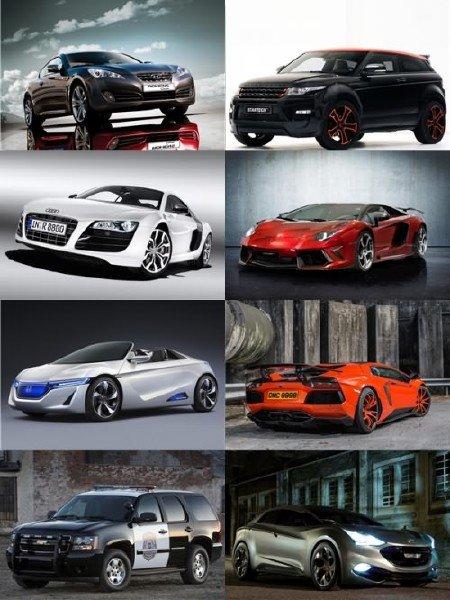 Сборник автомобилей в фотографиях отличного качества выпуск 6