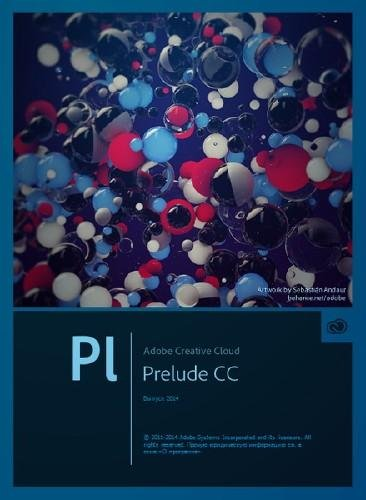Adobe Prelude CC 2014 3.0.0 Build 160 Final