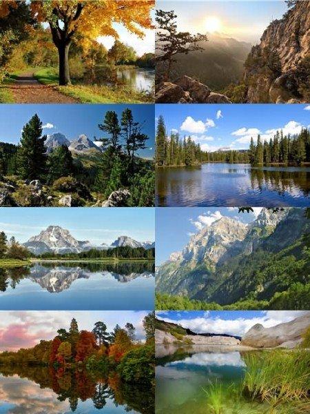 Чудесные пейзажи природы в фотографиях подборка для рабочего стола выпуск 1 ...