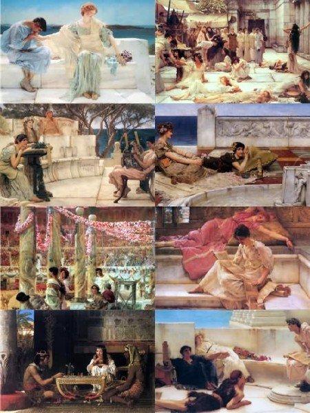 Подборка картинок живописи Лоуренс Альма-Тадема выпуск 31