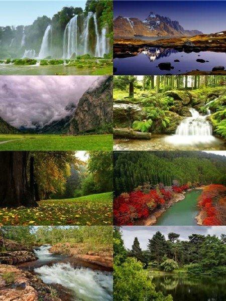 Красивая подборка пейзажей природы в фото выпуск 153