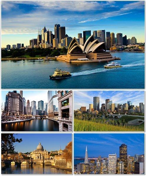 Фото архитектуры крупных городов мира на фон рабочего стола 63