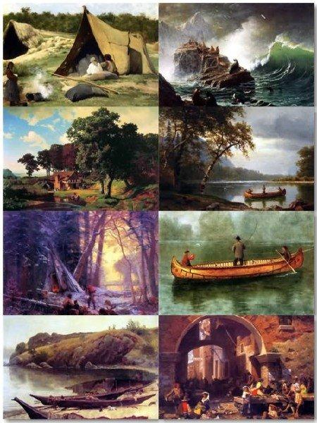 Подборка картинок живописи Альберта Бирштадта выпуск 32