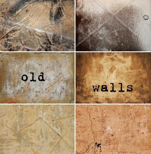 Текстуры старых стен