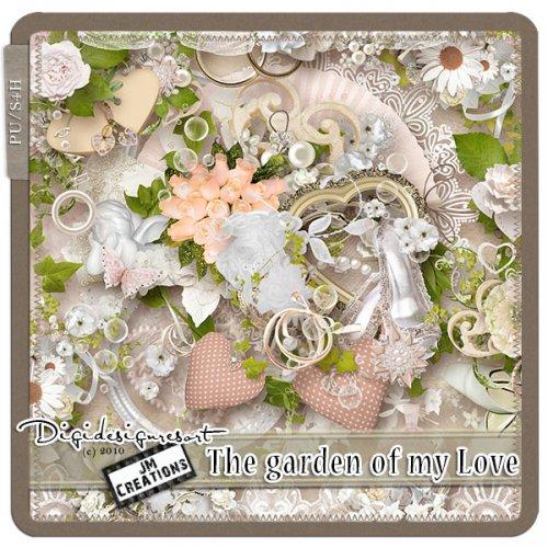 Скрап-набор The garden of my love