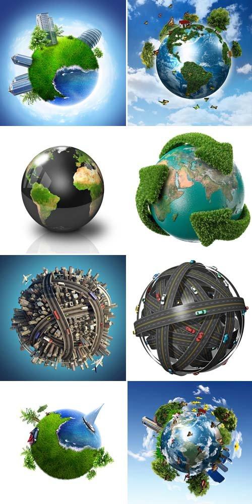 Круглая Земля