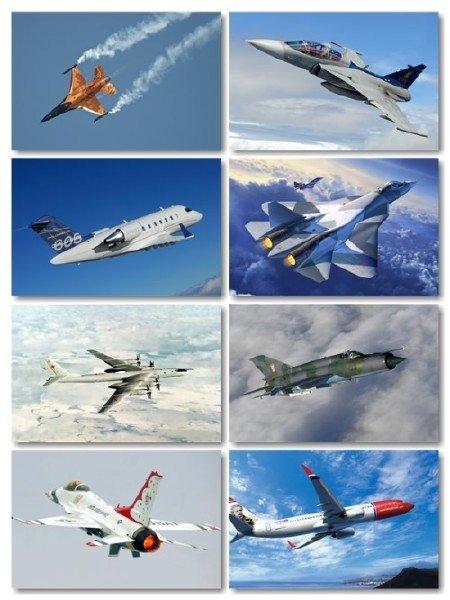 Сборник фото подборки авиации на рабочий стол выпуск 28