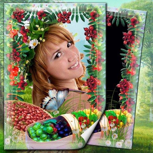 Рамочка для фото - Щедрые дары лета