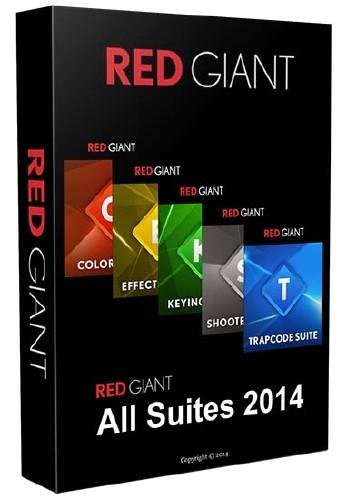 Red Giant All Suites 2014