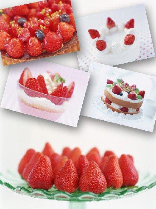 Сладости и десерты из клубники