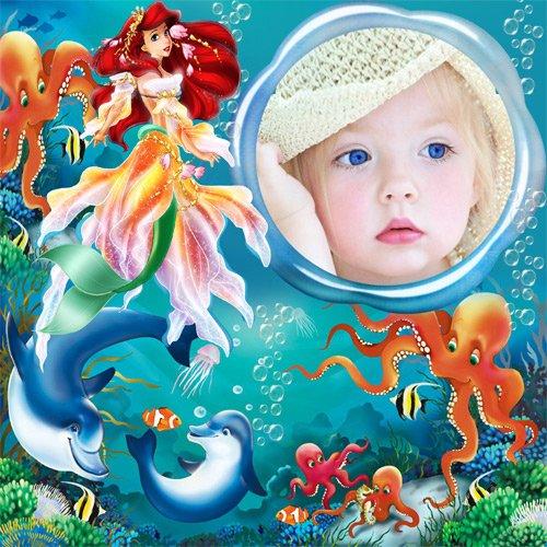 "Рамка детская  ""На дне океана"""
