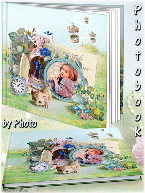 Детская фотокнига - Сказочный мир