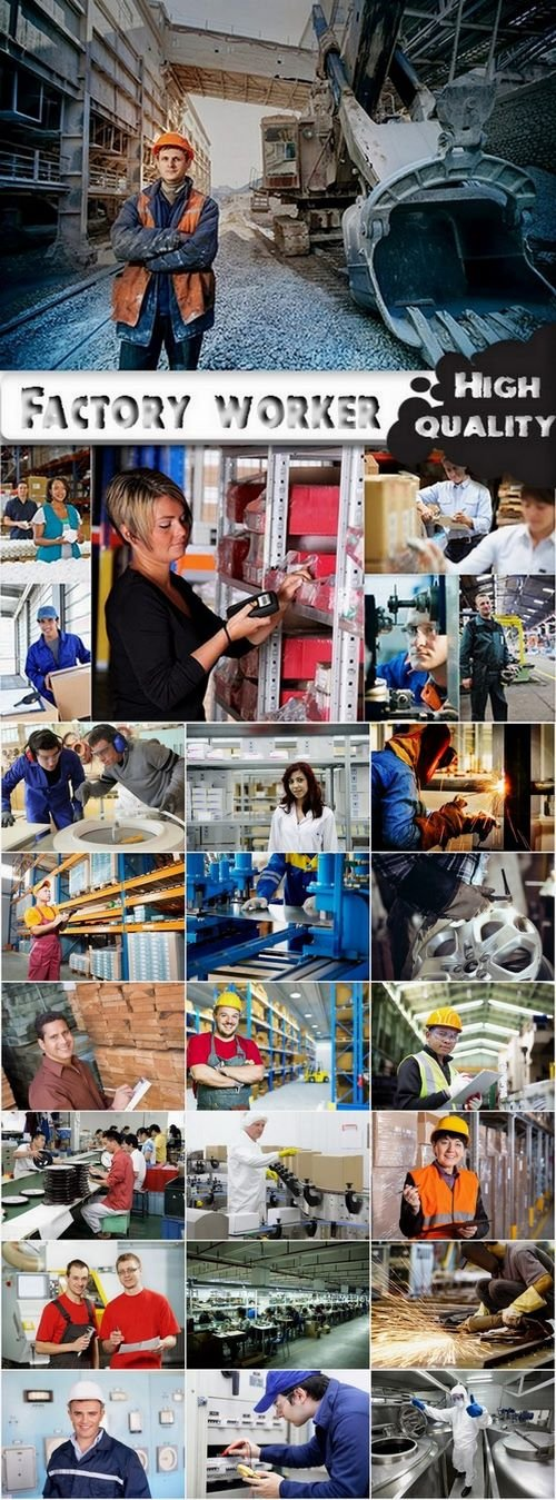 Factory worker Stock Images - 25 HQ Jpg