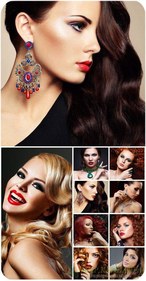 Красивые девушки, блондинки, брюнетки / Beautiful girls, blondes, brunettes ...